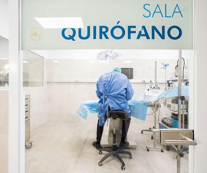 Quirófano para lactantes