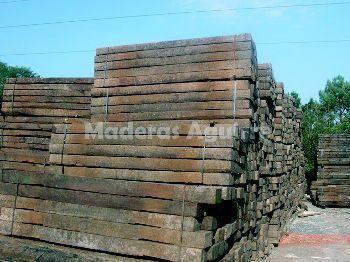 Bigas de madera en Vizcaya
