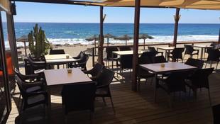 Restaurante frente al mar en Mojácar