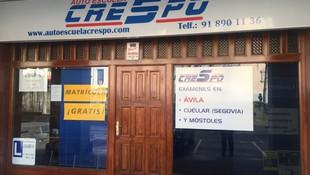 Todos los permisos de conducir en Collado Villalba