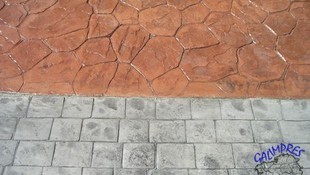Pavimentos decorativos en Ourense