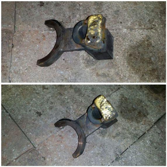 Reparación de piezas viejas