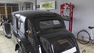 Restauración de vehículo clásico