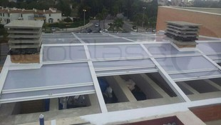 Empresa instaladora de techos móviles
