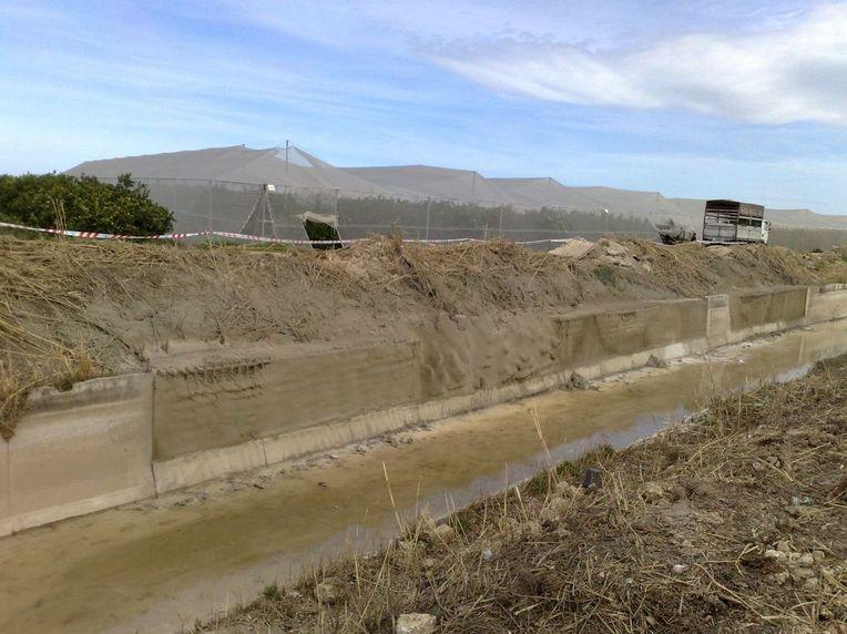 Construcción de canales