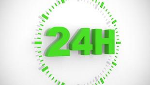 Servicio las 24 horas para averías