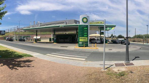 Estación de servicio en Sevilla