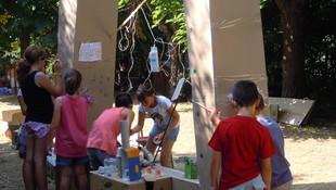 reciclatge en grup al casal els inventors 2013