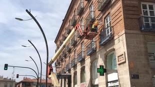 Rehabilitacion en altura por profesionales de fachadas en Murcia