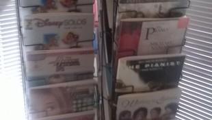 partituras y libros de música