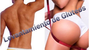 LEVANTAMIENTO Y TONIFICACION DE GLÚTEOS