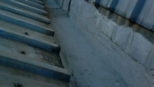 limpieza reparación e impermeabilizado en las canalones