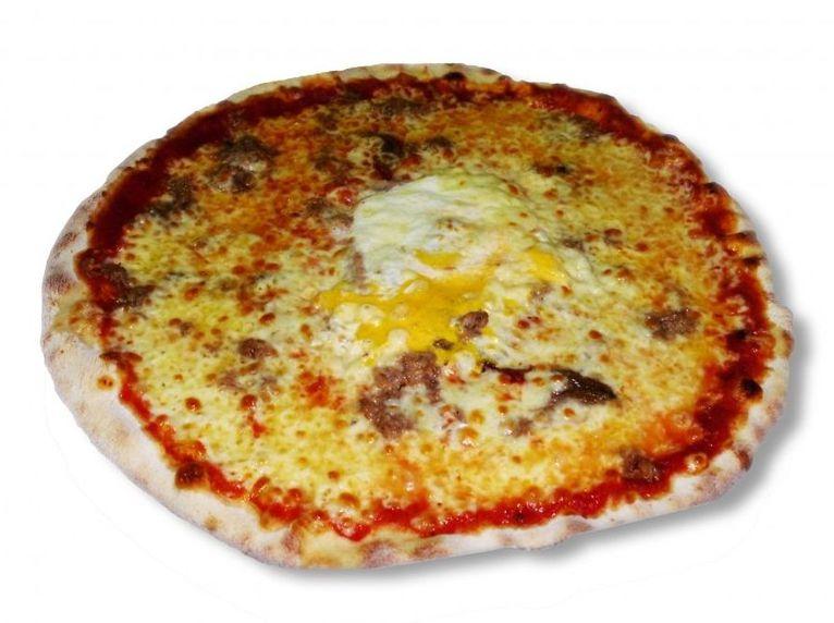 Servicio a domicilio. Pizzas artesanas al horno de leña.