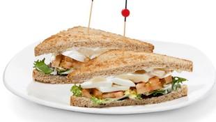 Exquisitos sándwiches vegetales