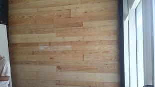 Forrado de paredes en madera