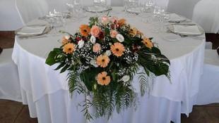 Arreglos florales para mesa presidencial
