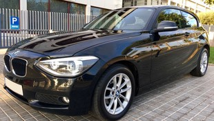 BMW Serie 1 116d negro
