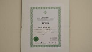 Diploma  Tomás Acupuntura Energy