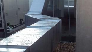 Conductos de chapa para aire acondicionado