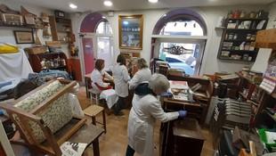 Restauraciones Poblet. Taller y cursos de restauración en Madrid
