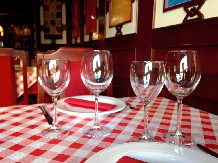 Mesa del restaurante