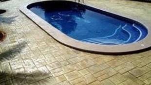 Hormigón para suelos de piscina