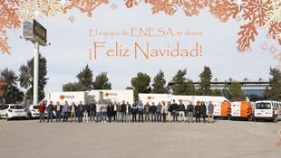 El equipo de ENESA, te desea ¡Feliz Navidad!