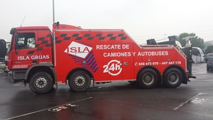 Traslado y transporte de vehículos pesados