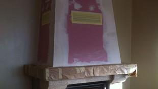 Restauración interior campana chimenea