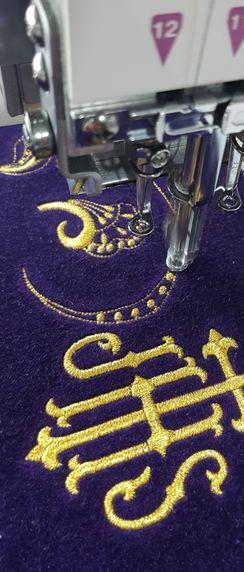 Diseño y confección de bordado para todo tipo de prendas en Ciudad Real