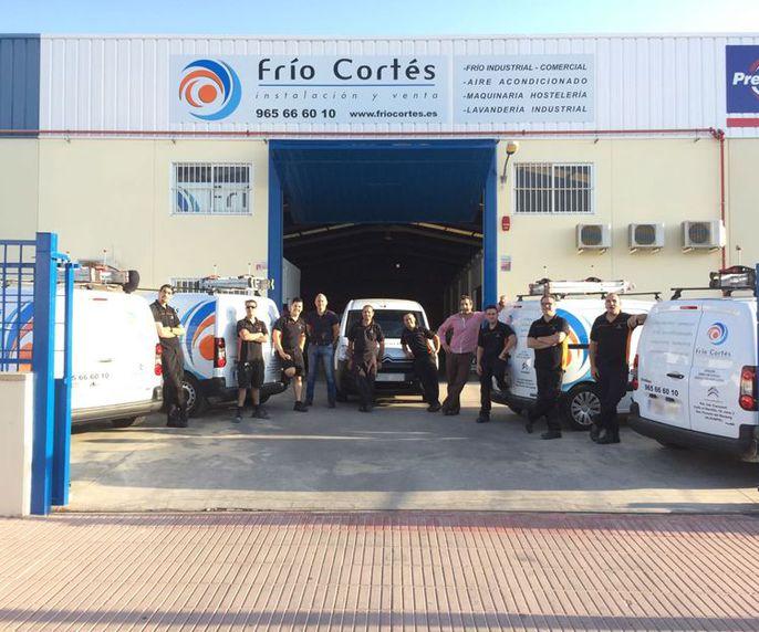 Instalación y venta de frío industrial en Alicante