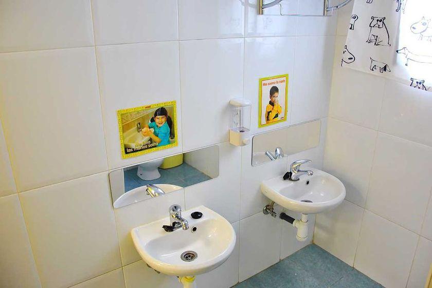 Baños adaptados para los niños