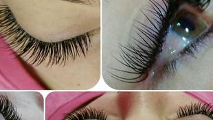 Extensiones de pestañas pelo a pelo
