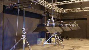 Material de iluminación cinematográfica en Madrid