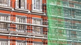 Trabajos verticales en fachadas Madrid Centro
