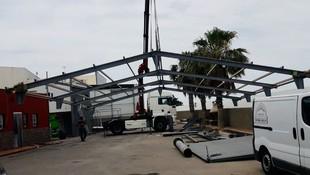 Estructuras metálicas para instalaciones industriales