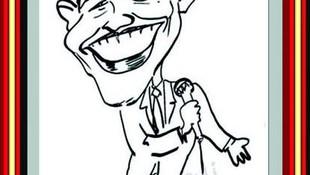 Caricatura rápida, Barac Obama