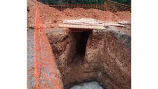 Trabajos de excavación en Terrassa