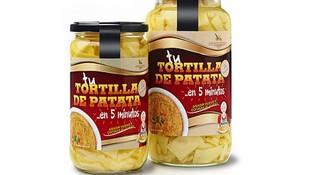 Preparado de tortilla de patata sin cebolla