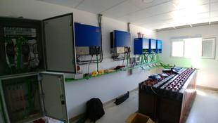 Cambio energético, construcción Instalación aislada para granja Agropecuaria del Pirineo Zaragoza