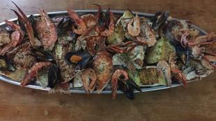 Parrillada de pescado en Ibiza