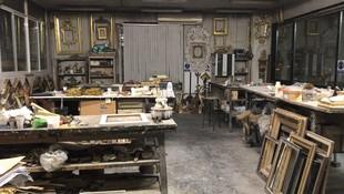 Nuestro taller, donde elaboramos cada marco