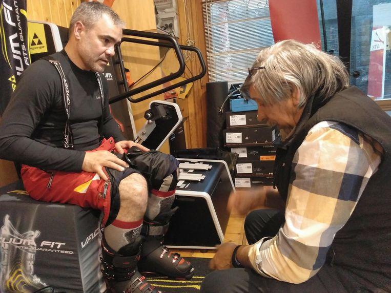 Personalización de botas de esqui Formigal