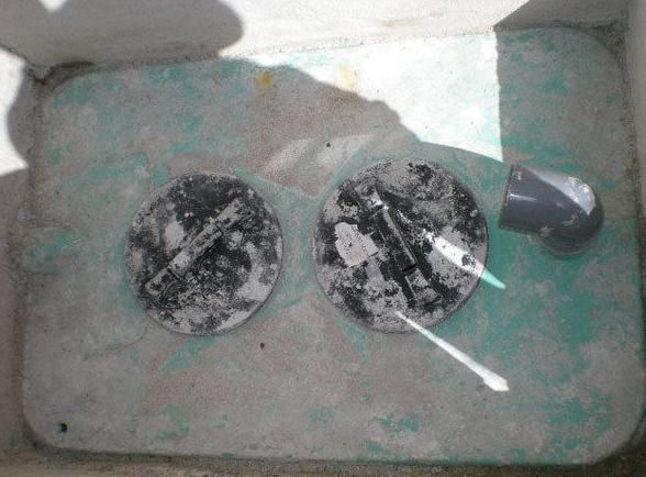 Arqueta de hidrocarburos