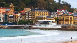 Forja artística en la Playa de la Concha, San Sebastián