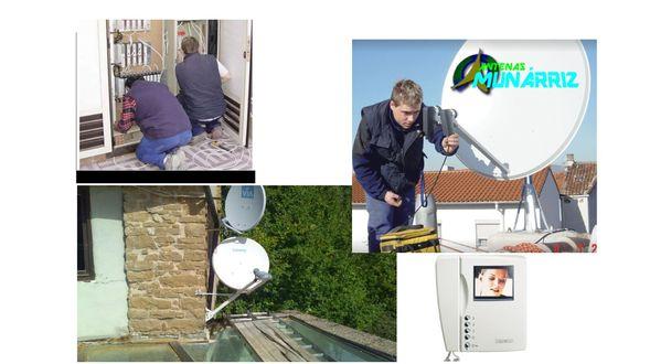 Instalación de Antenas en Pamplona