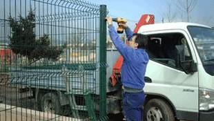 Instalación de valla