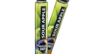 Molecular shot - Sour apple