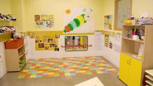 Una de las aulas del centro