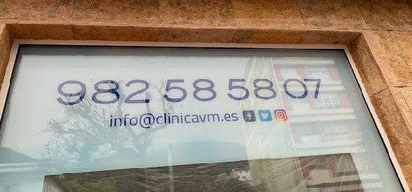 Cómo contactar conmigo en la Clínica Virxen da Mariña en Burela.